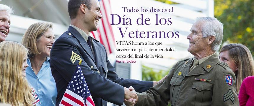 Cuidado de hospicio para veteranos | Servicios de hospicio VITAS