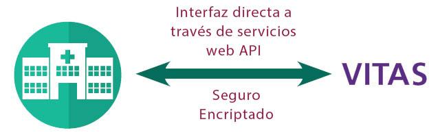 Derivaciones de hospicio de VITAS - API