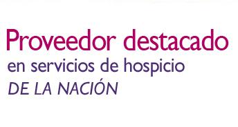 Proveedor destacado de servicios de hospicio del país